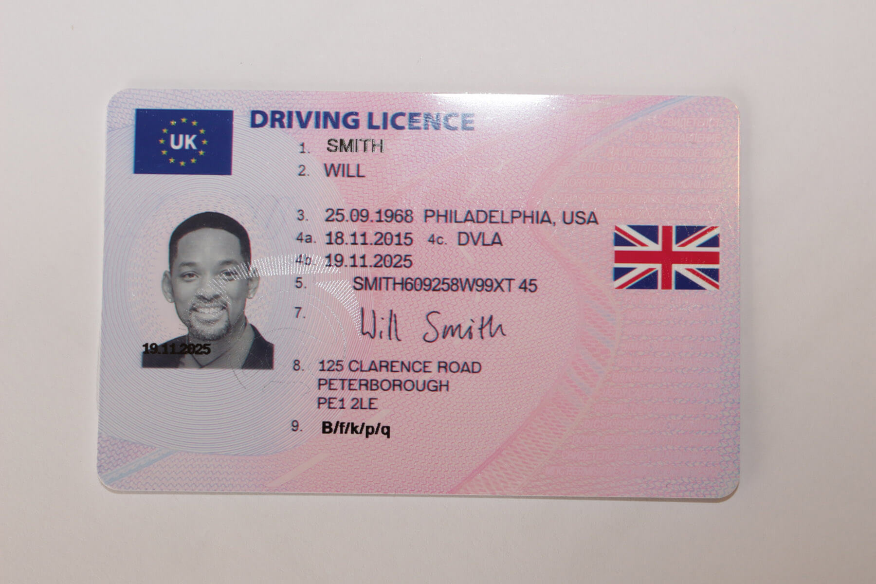 Where is my drivers license number uk | Driving licences