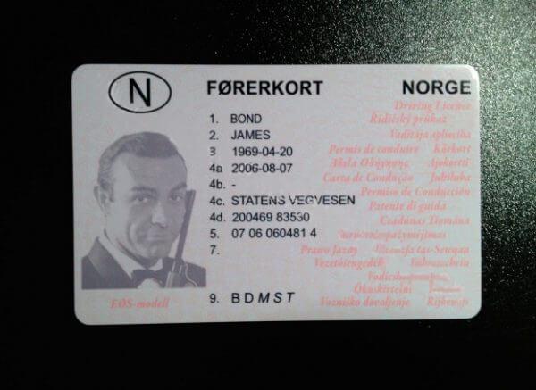 🆔🔥 Norway Fake Drivers Licence (Førerkort)
