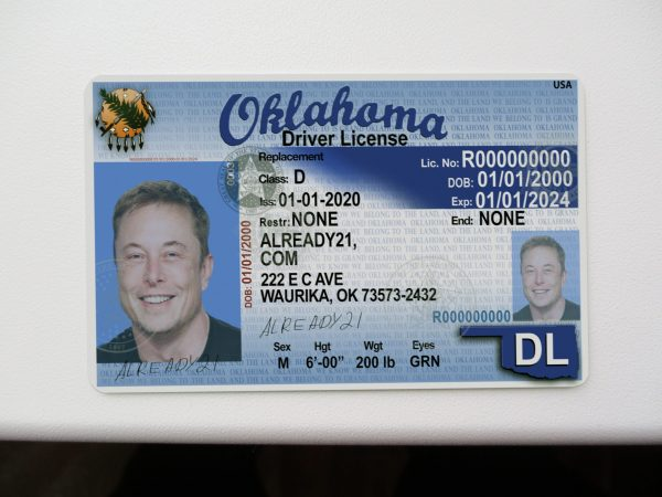 Buy Fake ID Oklahoma