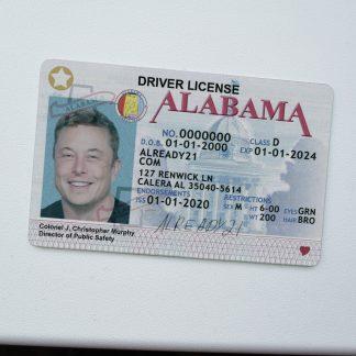 Buy Fake ID Alabama
