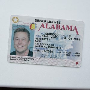 Buy Fake ID Alabama