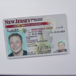 Buy Fake ID New Jersey