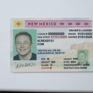 Buy Fake ID New Mexico