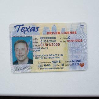 fake id texas