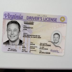Virginia fake id